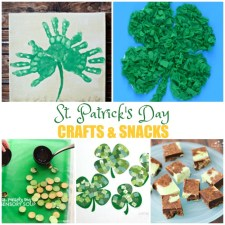 St. Patrick's Day Crafts and Snacks