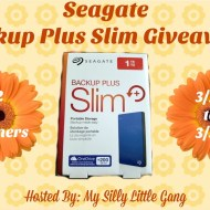 The Seagate Backup Plus Slim Giveaway