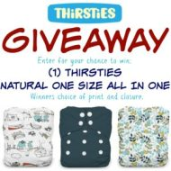 Thirsties Diaper Giveaway