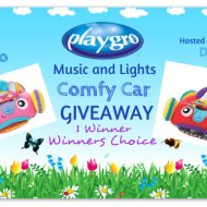 Playgro Music and Lights Comfy Car Giveaway @playgro