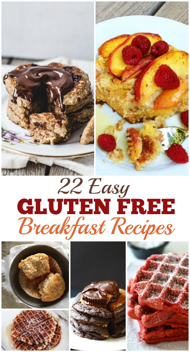 Easy Gluten Free Recipes for Breakfast make it simple to prepare a safe meal for your friends and family. Create your favorites from this gluten free list