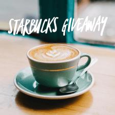 Starbucks Insta Giveaway