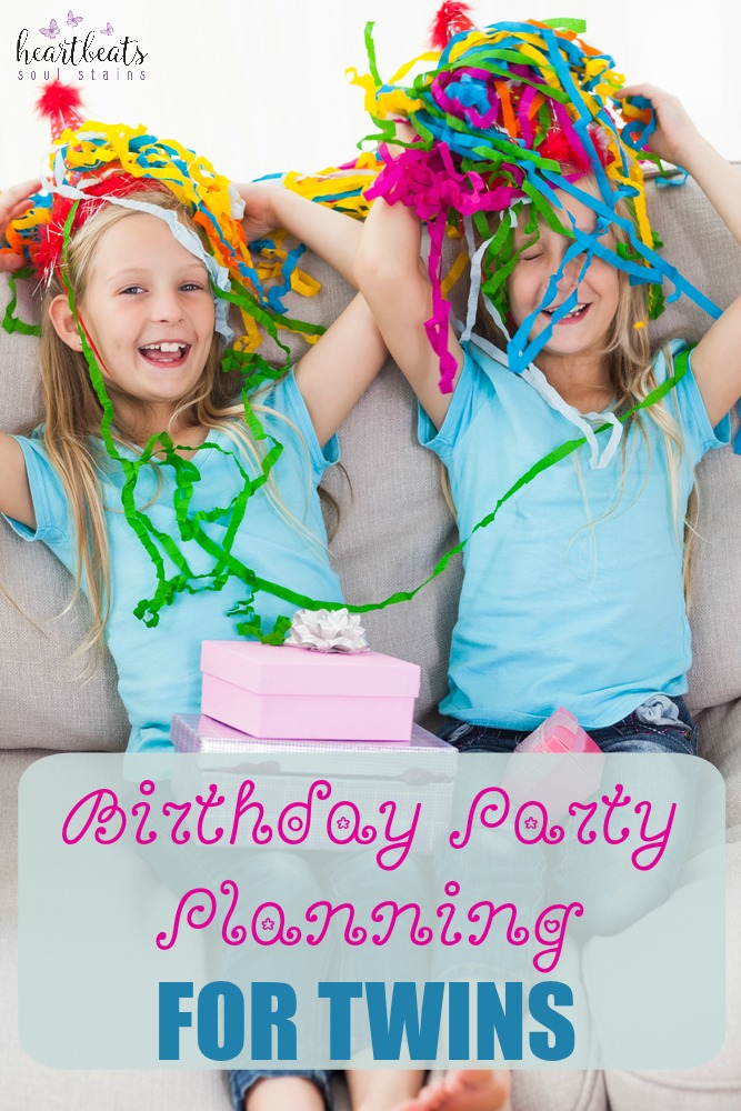 A Birthday Party for Twins doesn't have to be stressful. Here are party planning ideas to have a ton of fun on the twins special day!