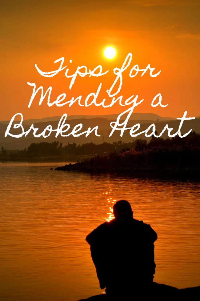 Mending a Broken Heart is not easy. Here are some tips to help with the ups and downs that will come your way.
