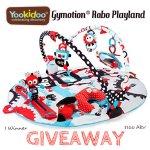 Yookidoo Gymotion® Robo Playland Giveaway! ($100 RV)