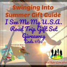 I See Me My U.S.A. Road Trip Gift Set Giveaway