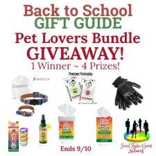Pet Lovers Bundle Giveaway!