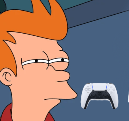 Personaje de Futurama y PlayStation 5