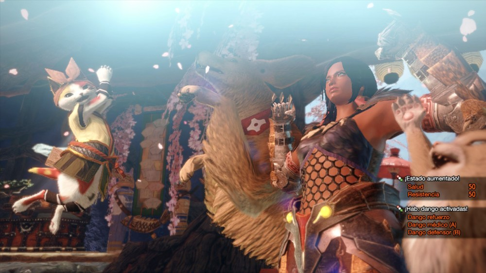 Captura de Monster Hunter Rise