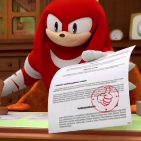 Knuckles Approves This