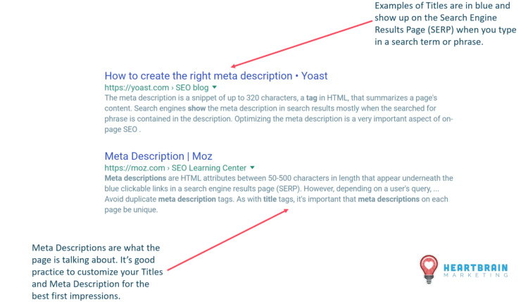 SEO Audits will find any existing problems with your titles and meta descriptions