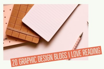 20 graphic design blogs I love reading