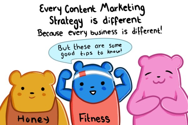 ever business is different and so is the content marketing strategy