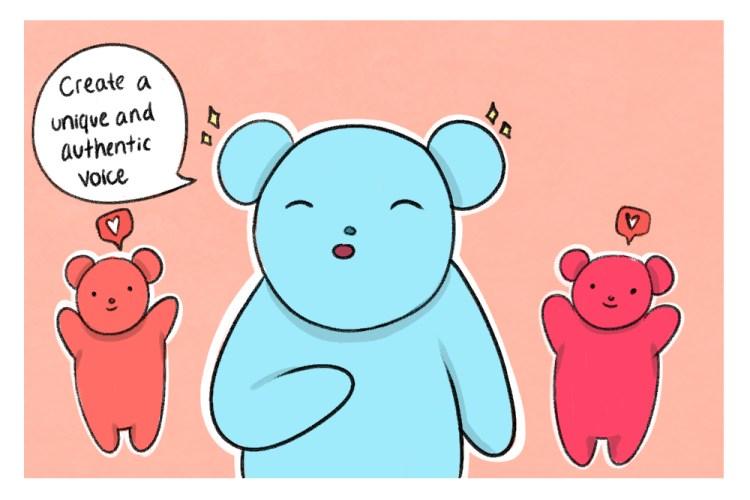bear talking about brand awareness for social media