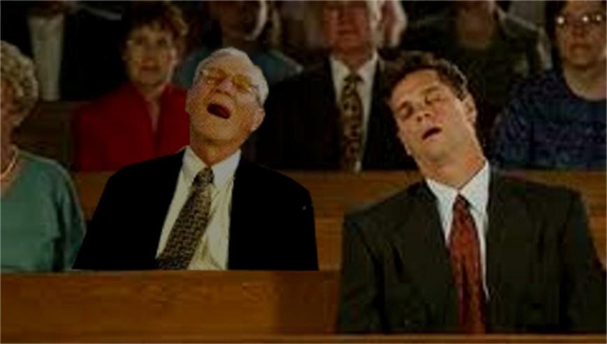 sleeping christians