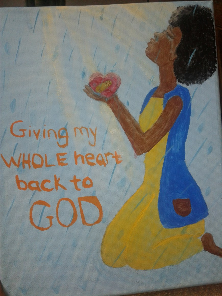 Giving my heart back