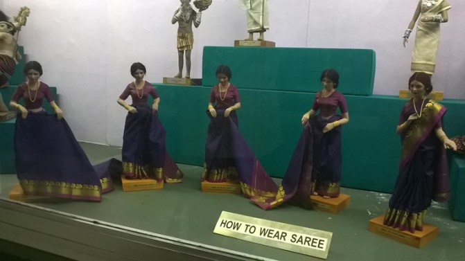 A Step by Step Presentation by Dolls on How to wear a Saree