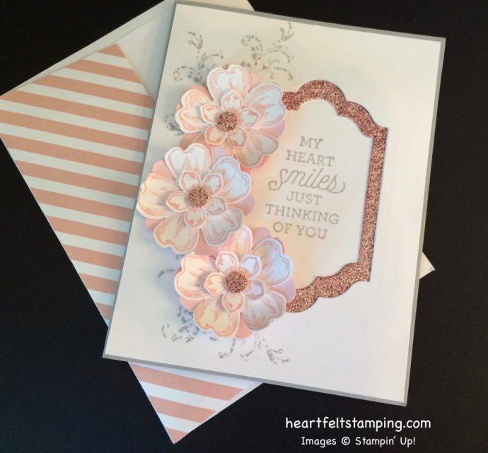 Stampin Up Flower Shop Friendship card ideas - Rosanne Mulhern stampinup