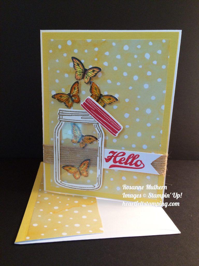 Jar Of Love Ly Butterflies Heartfelt Stamping