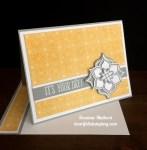 Stampin Up Eastern Medallion Birthday Card - Rosanne Mulhern stampinup