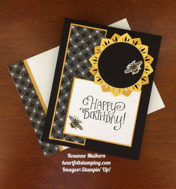 Stampin Up Eastern Medallions and Window Box Birthday set - Rosanne Mulhern stampinup