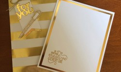 Stampin Up Crafting Forever Treat Bag and Notecard - Rosanne Mulhern