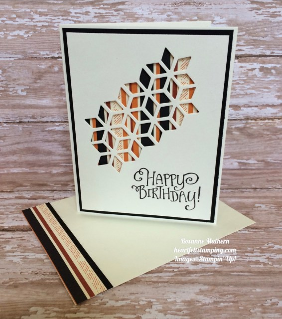 Stampin Up Oh So Eclectic Masculine Birthday - Rosanne Mulhern