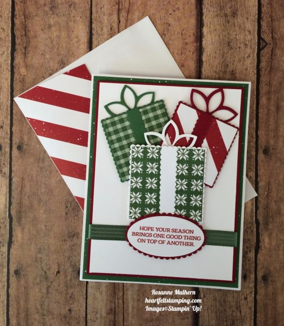 Quilted Christmas Christmas Card - Rosanne Mulhern