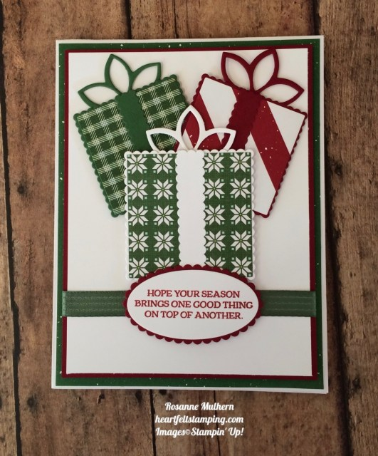Quilted Christmas Christmas Cards - Rosanne Mulhern