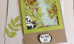 Stampin Up Paper Pumpkin Alternate Project with Party Panda - Rosanne Mulhern