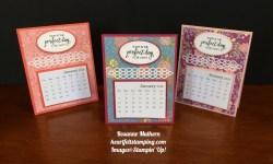 Stampin Up Sweet Soiree Calendars - Rosanne Mulhern