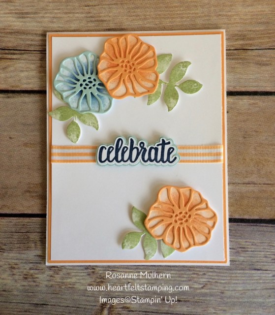 Stampin Up Oh Eclectic Birthday Card Ideas- Rosanne Mulhern