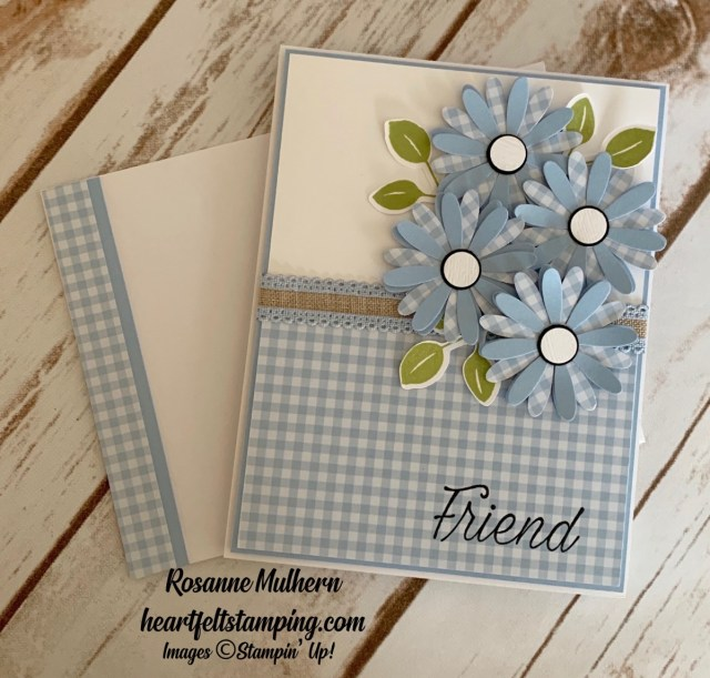 Daisy Lane Friendship Card Ideas- Rosanne Mulhern stmpinup