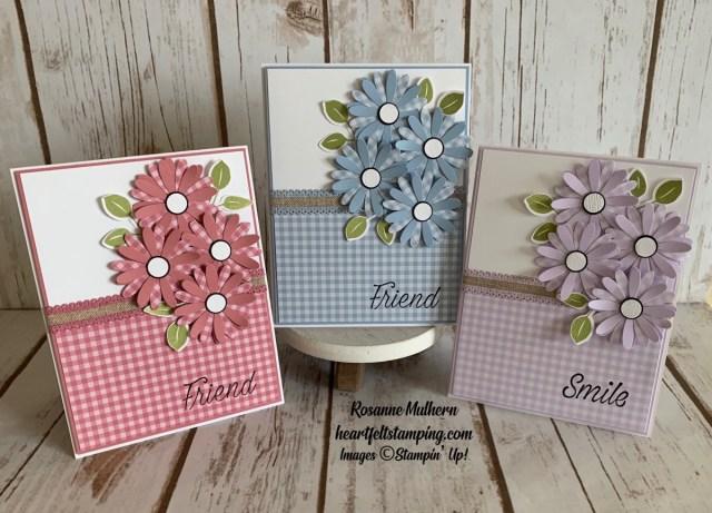 Daisy Lane Friendship Card Ideas - Rosanne Mulhern stmpinup