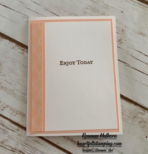 Petal Pink Peek with Ornate Garden Card Idea -Rosanne Mulhern stampinup