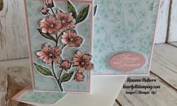 Stampin Up Forever Blossom Wedding Card - Rosanne Mulhern stampinup
