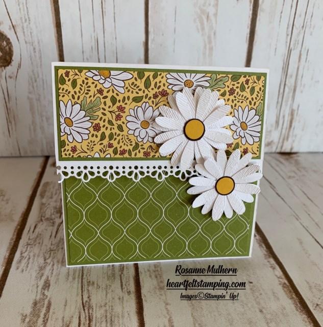 Stampin Up Ornate Garden Gift Card Holder - Rosanne Mulhern stampinup