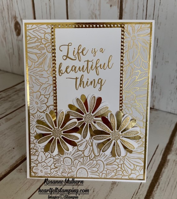 Stampin Up Ornate Garden with Colorful Seasons Card Ideas - Rosanne Mulhern stampinup