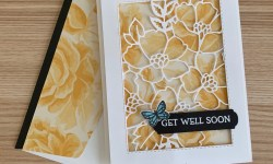 Stampin UP Blossoms in Bloom Get Well Card - Rosanne Mulhern stampinup