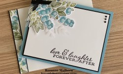 Stampin Up Forever Ferns Anniversary Card -Rosanne Mulhern stampinup