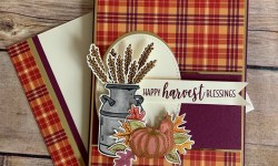 Stampin Up Country Home Fall Card -Rosanne Mulhern stampinup
