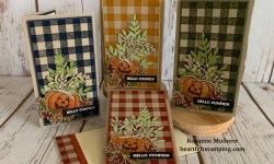 Stampin Up Harvest Hello Halloween Cards Idea - Rosanne Mulhern stampinup