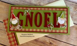 My Favorite Things You Gnome Me Christmas Card Ideas - Rosanne Mulhern Heartfelt Stamping