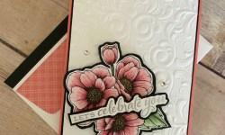 Stampin Up True Love Celebration Card Idea -Rosanne Mulhern stampinup