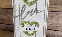 The Greetery Boxwood Wreath Love Card -Rosanne Mulhern