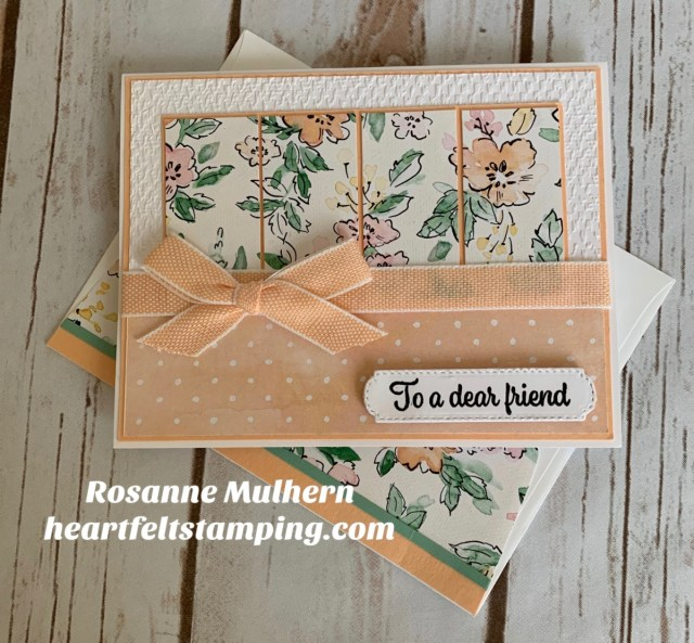 Stampin Up Hand Penned Petals Birthday Card - Rosanne Mulhern stampinup.jpg