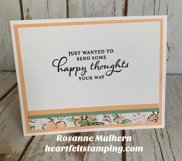 Stampin Up Hand Penned Friendship Cards -Rosanne Mulhern stampinup