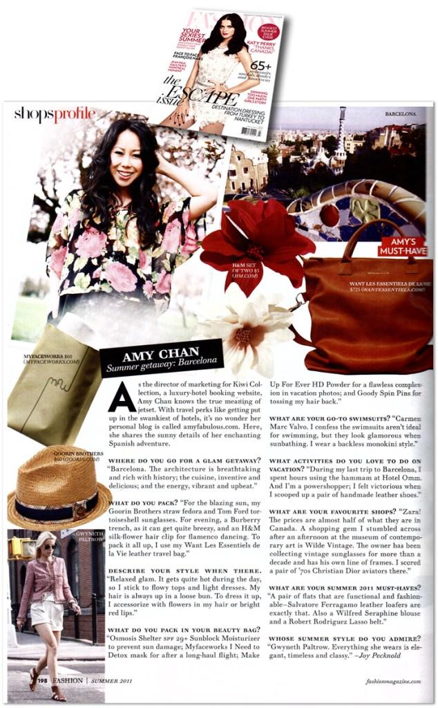 FASHION Magazine Interview - Heart Hackers Club -  - Magazine