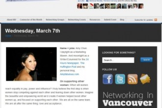 Networking in Vancouver: Women Making a Difference - Heart Hackers Club -  - Online advertising