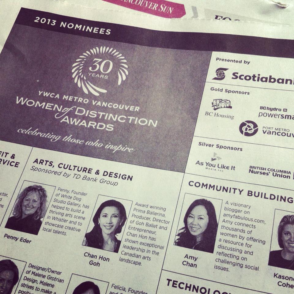 YWCA Women of Distinction Awards - Heart Hackers Club -  - Identity document